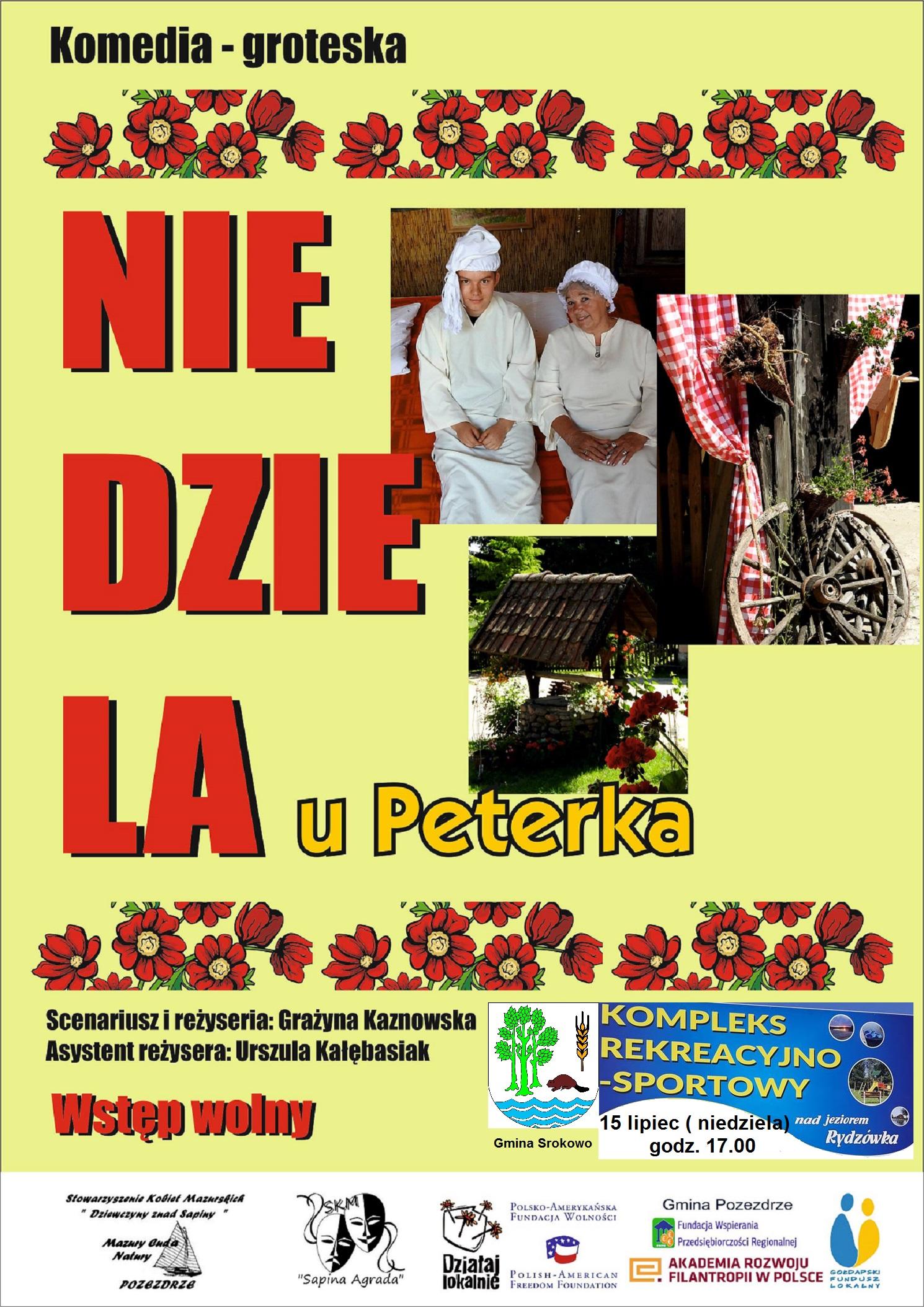 Plakat Srokowo gg